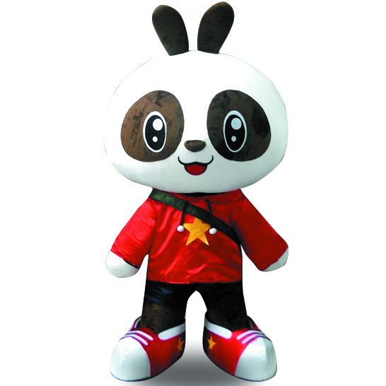 巴布熊猫辛巴卡通服装