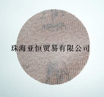 木工圆盘砂纸进口磨卡圆盘网格砂纸
