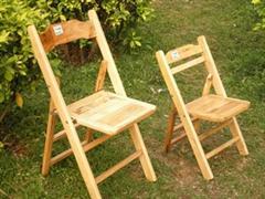 户外实木折叠椅休闲藤编椅子现货直批低至29元