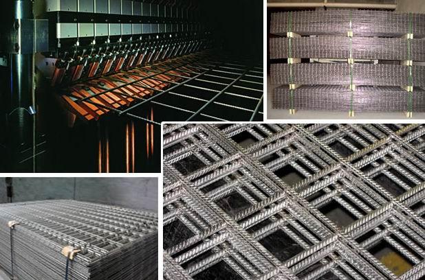 钢筋网片 钢筋焊接网 建筑网片 建筑用网 联安钢网 钢筋