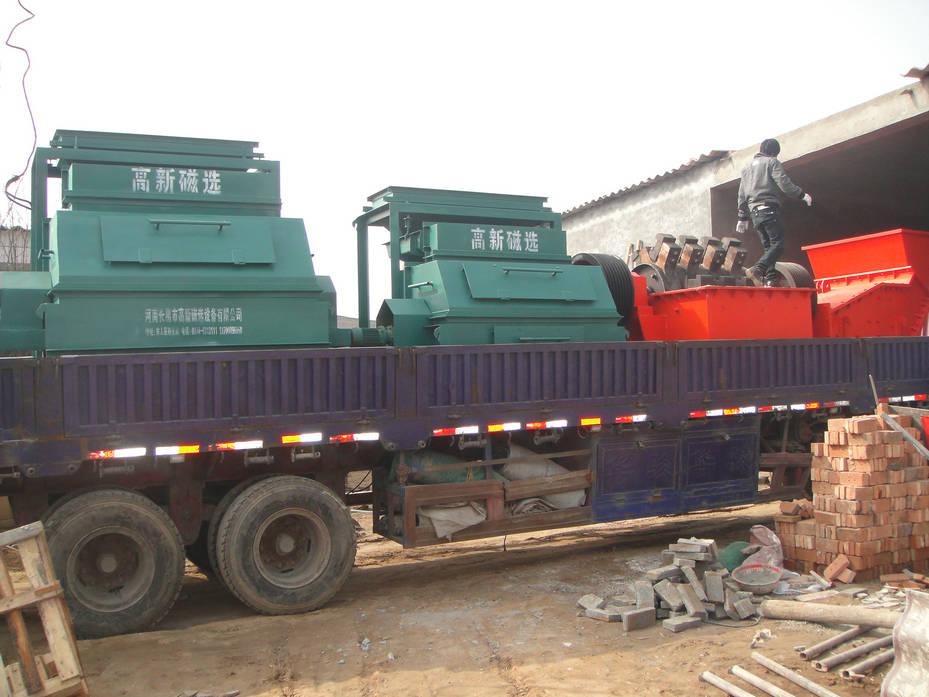 舞钢铁矿专用磁选机磁铁矿干选设备厂家