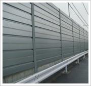 高速公路声屏障,金属百叶声屏障,公路隔音网,吸音网。