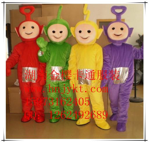 湖南提供毛绒卡通天线宝宝服装、广元卡通人物服装