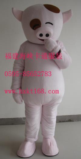 提供迪士尼毛绒公仔人偶服装,卡通服饰,麦兜猪服装