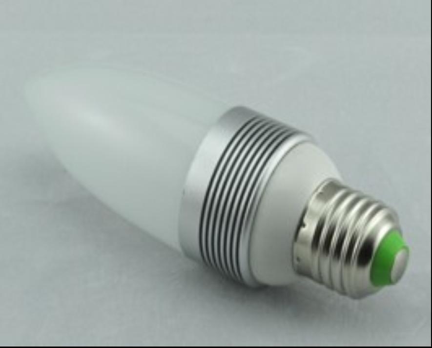 led蜡烛灯、led球泡灯 、3Wled蜡烛灯