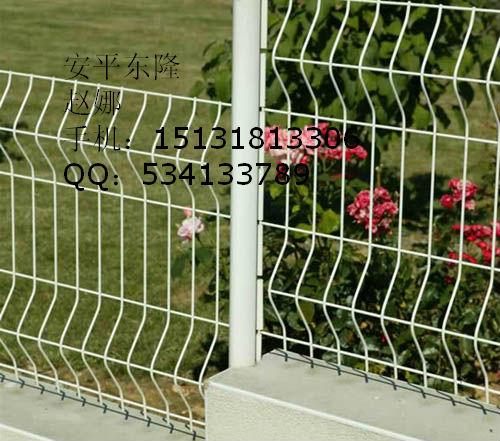 厂家供应三角折弯护栏网,三角折弯防护网