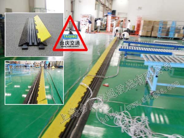 汽车碾压过桥板 橡胶线槽过桥板 上海电缆线槽板