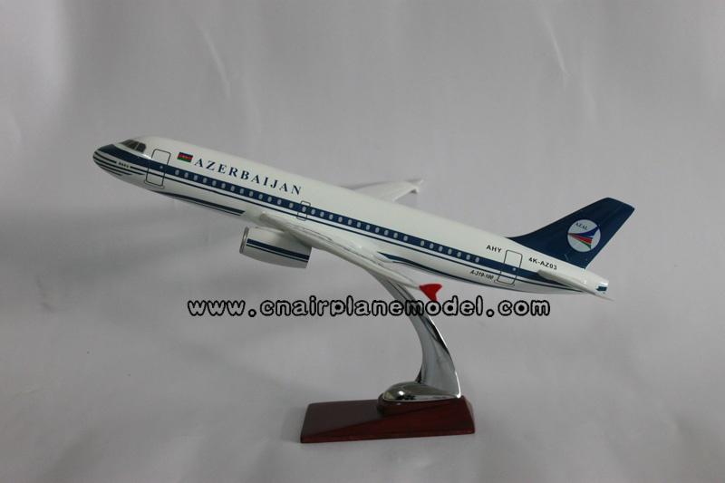 供应飞机模型空客A319阿塞拜疆航空模型39CM