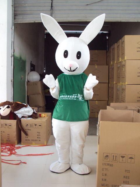 供应深圳卡通服装,卡通人偶,卡通安利兔