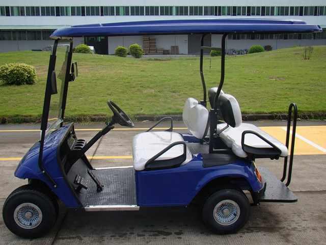 杭州电动高尔夫观光车|电动高尔夫车|高尔夫球车价格