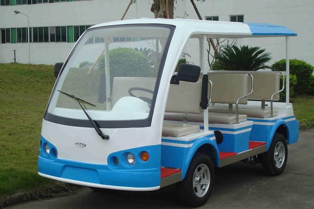 深圳观光车|电动浏览观光车|景区用电动观光车