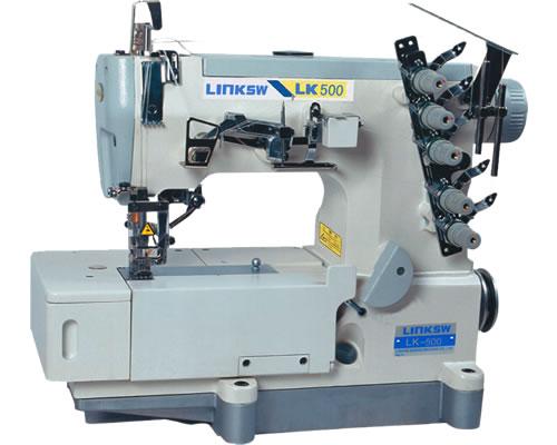 LK-500平台型高速绷缝机 重机质量保障 线迹平整