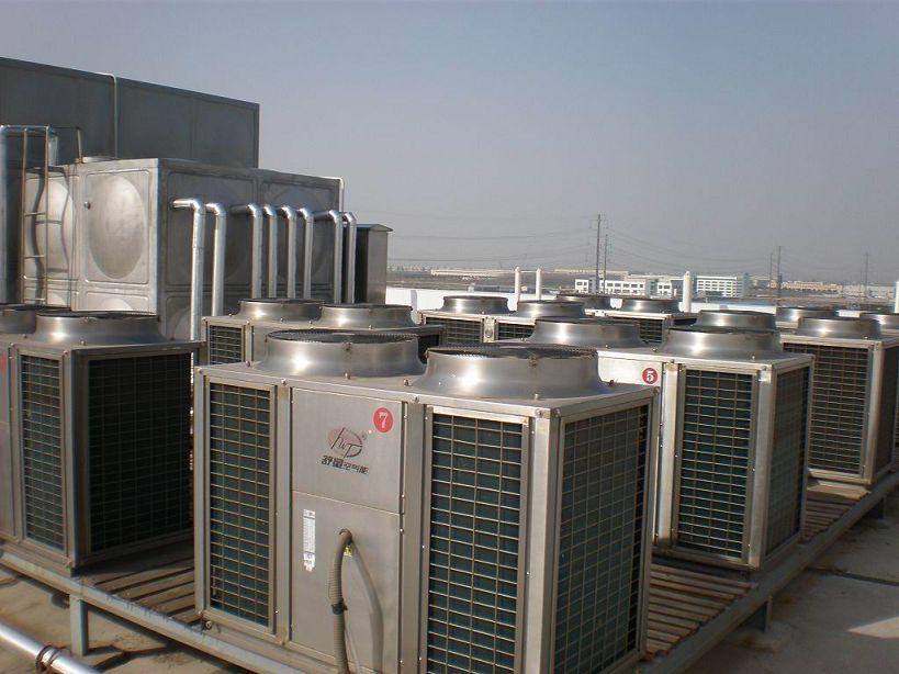 商用空气能中央热泵热水机10p