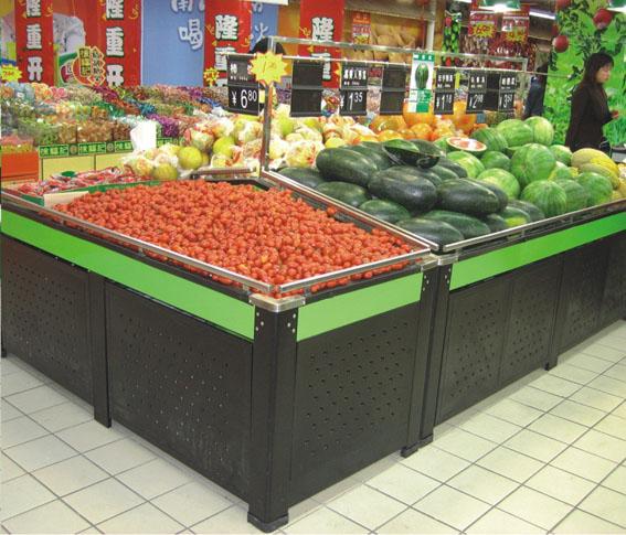 巢湖展柜 超市展柜 超市货架制作