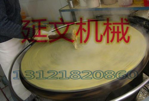 山东煎饼机使用于众多的地方 免费随煎饼机赠送煎饼面配方