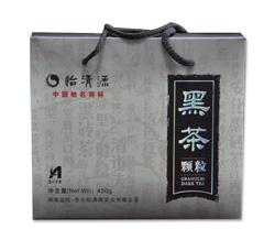 黑茶叶/湖南黑茶/450g野尖安化黑茶颗粒/湖南特产茶厂正品