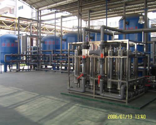 原水处理超滤系统
