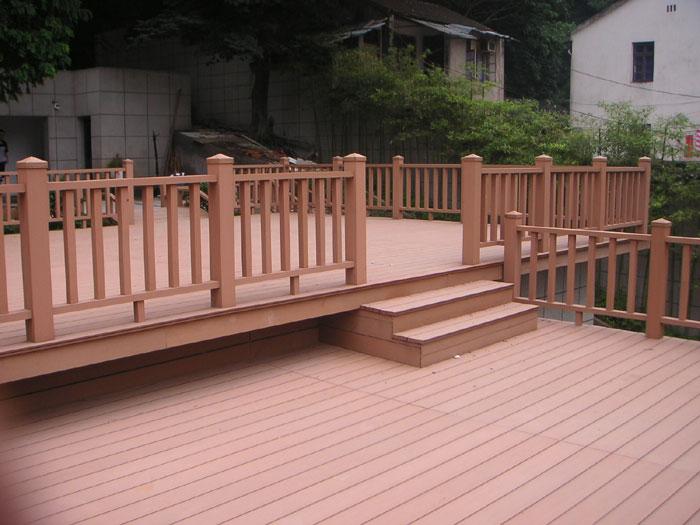 户外塑木栏杆扶手