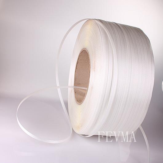 9mm宽3000米长全新PP打包带,透明、黄色、白、蓝、红