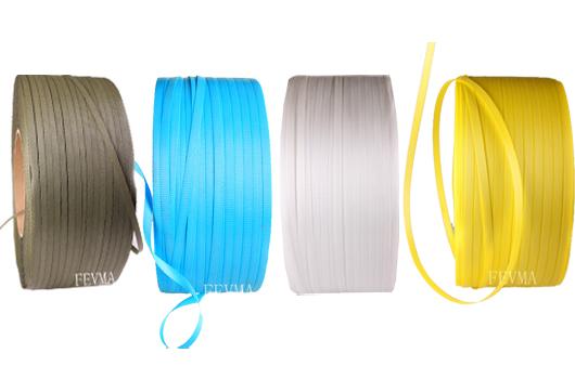 中山港隆菲沃玛供应13.5mm宽半自动打包带,全自动打包带,PP打包带