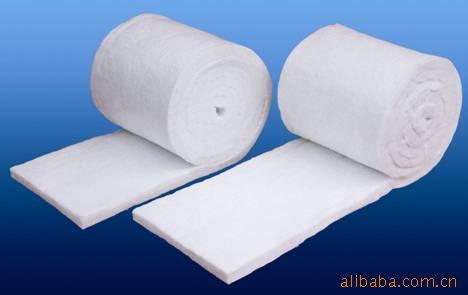 氧化铝纤维毯硅酸铝甩丝毯硅酸铝针刺毯(高铝毯)