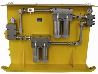 乳化液高(低)压反冲洗过滤站