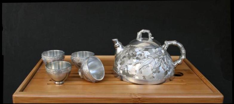 香竹玲珑茶具(斑)