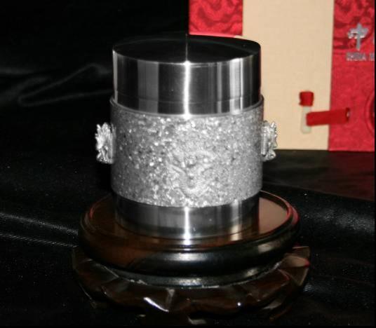 5#龙凤茶筒