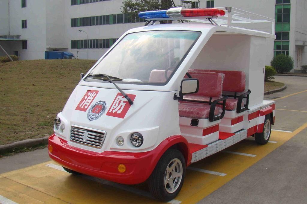4座电动消防车TZN-XF4