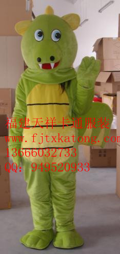 供应浙江庆典卡通服装,上海卡通舞台服装,龙