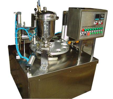 南宁米酒自动口杯封盖机/广西自动口杯封盖机