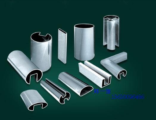单槽不锈钢异型管,方槽不锈钢异型管,凹槽不锈钢管