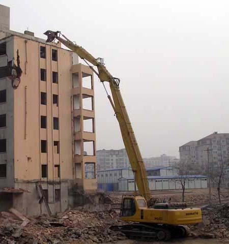 小松挖掘机代理销售加长臂、高铁修建用挖机长臂