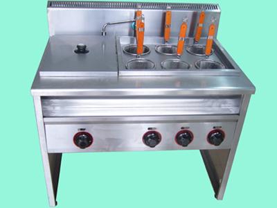 南宁烫粉煮面炉,广西不锈钢燃气煮粉机