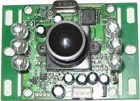 可视对讲摄像模组GD-B381(黑白)