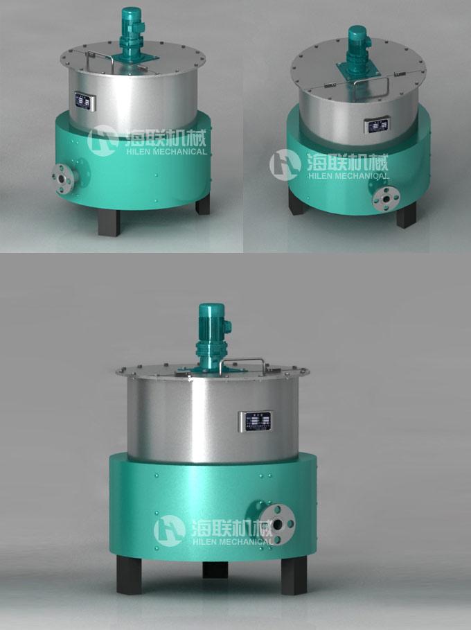 电加热搅拌罐也可叫水相罐,广泛应用于涂料、医药、建材、化工、颜料、树脂、食品、科研等行业。该设备可根据用户产品的工艺要求选用碳钢、不锈钢等材料制作,以及设置加热、冷却装置,以满足不同的工艺和生产需要。加热形式有夹套电加热、盘管加热,该设备结构设计合理、工艺先进、经久耐用,并具受热面积大,热效率高,加热均匀,淮料沸腾时间短,加热温度容易控制等特点,是理想的投资少、投产快、收益高的化工设备   电加热搅拌罐为上开启式结构,具有可加热自动控温、保温、搅拌功能;传热快、适应温差大、清洗方便等优点。广泛应用于食(乳
