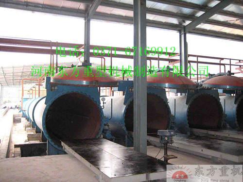 东方蒸压加气混凝土砌块设备优质蒸压砖机灰沙砖机