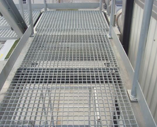 供应钢结构平台热浸锌钢格板