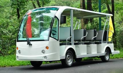 供应14座电动游览观光车