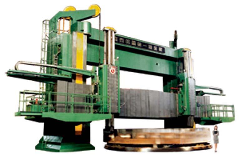 DVT1000×50/150 双柱立式车床