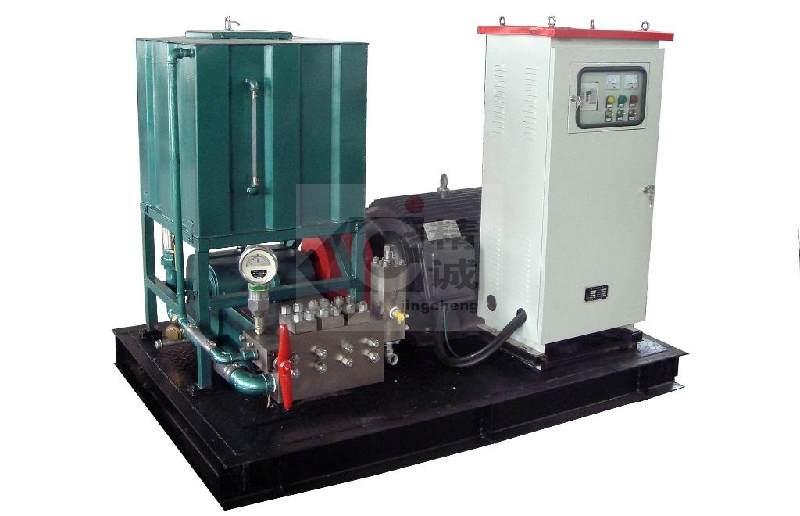 化工行业高压清洗机(高压水清洗设备)