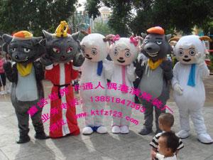 南京童话世界卡通服装