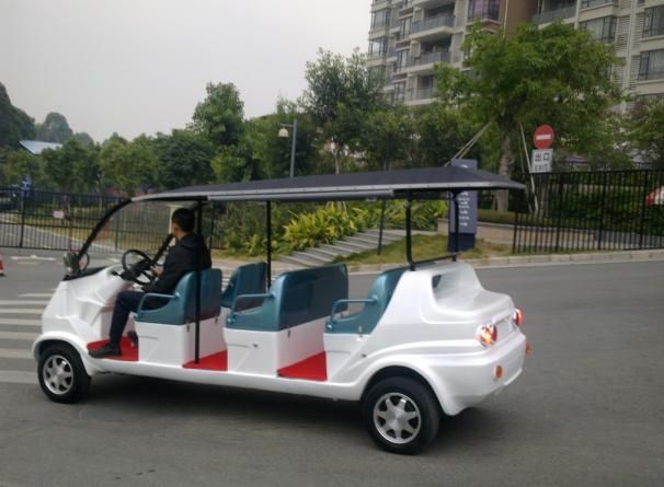 重庆凯逸八座电动观光车价格
