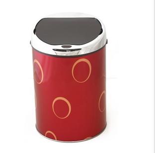 红外全自动感应垃圾桶4L(有带内桶)多款颜色