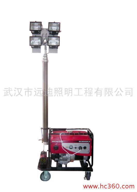 供应四川厂价SF6110a移动照明车移动照明灯组工程照明车
