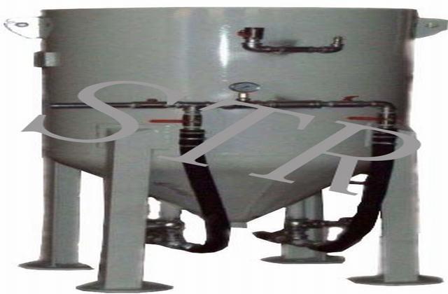 STR-双缸连续加砂双枪喷砂机