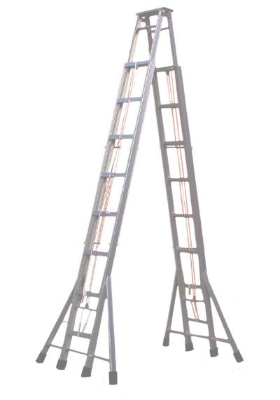 铝合金梯子 折叠铝合金梯子 折叠梯子