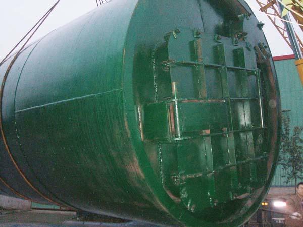 AG官方环保卧式炼油设备