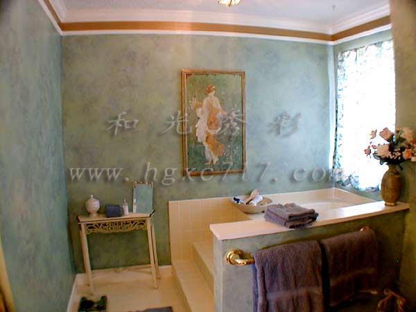 背景墙面装饰新材料和光秀彩浮雕漆