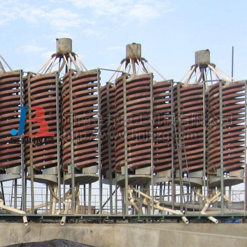 螺旋溜槽,玻璃钢选矿螺旋溜槽生产厂家--河南金邦重工机械有限公司